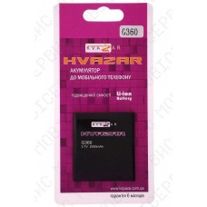 Аккумулятор Kvazar Samsung G360 (EB-BG360CBE) 2000mah (альтернатива)