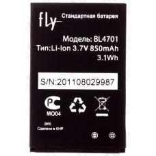 Аккумулятор Fly ds103d (BL4701) 850mah (оригинал тех. упаковка)