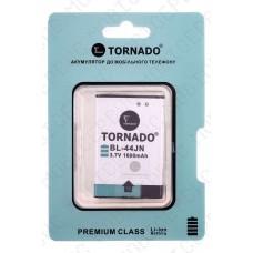 Аккумулятор TORNADO premium LG p970 (BL-44JN) 1500mah (альтернатива)