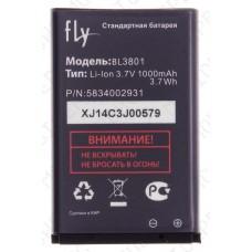 Аккумулятор Fly ds115 (BL3801) 1000mah (оригинал тех. упаковка)
