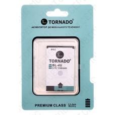 Аккумулятор TORNADO premium Nokia 8800 arte (BL-4U) 1000mah (альтернатива)