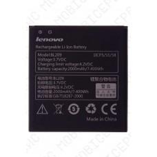 Аккумулятор Lenovo A516 (BL209) 2000mah (оригинал тех. упаковка)