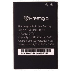 Аккумулятор Prestigio MultiPhone PAP3400 DUO 1500mah (оригинал тех. упаковка)