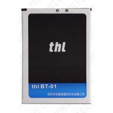 Аккумулятор THL BT-01 (T100s) 4.2V 2300mah (оригинал тех. упаковка)