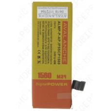 Аккумулятор iPhone 5S (Apn 616-0613) 1440mah (альтернатива)