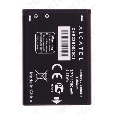 Аккумулятор Alcatel OT 2012D (CAB22B0000C1) 750mah (оригинал тех. упаковка)