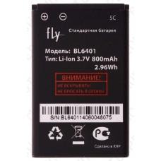 Аккумулятор Fly ds103d (BL6401) 800mah (оригинал тех. упаковка)