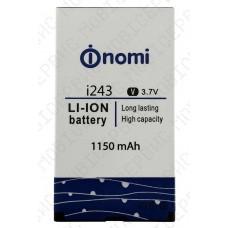 Аккумулятор Nomi i243 1150mah (оригинал тех. упаковка)