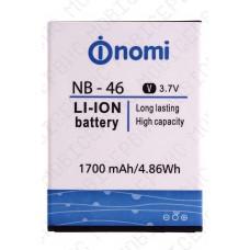 Аккумулятор Nomi i451 (NB-46/NB-451) 1700mah (оригинал тех. упаковка)