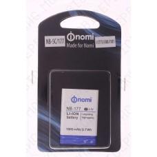 Аккумулятор Nomi i177 (NB-5C) pn 176279 1000mah (оригинал тех. упаковка)