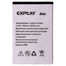 Аккумулятор Explay ALto 1600mah (оригинал тех. упаковка)