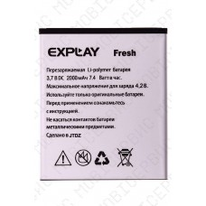 Аккумулятор Explay Fresh/Vega 2000mah (оригинал тех. упаковка)