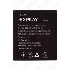 Аккумулятор Explay Vision 2000mah (оригинал тех. упаковка)