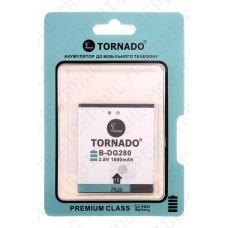 Аккумулятор TORNADO premium Doogee DG280 1800mah (альтернатива)