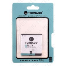 Аккумулятор TORNADO premium Lenovo A580 (bl194/bl179) 1760mah (альтернатива)