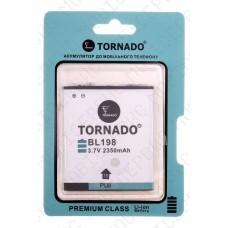 Аккумулятор TORNADO premium Lenovo a850 (BL198) 2250mah (альтернатива)