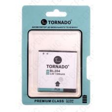 Аккумулятор TORNADO premium Lenovo a670 (BL204) 1700mah (альтернатива)