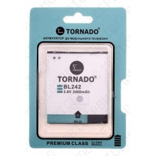 Аккумулятор TORNADO premium Lenovo A6000 (bl242) 2300mah (альтернатива)