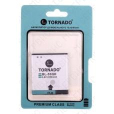 Аккумулятор TORNADO premium LG p880 (BL-53QH) 2100mah (альтернатива)