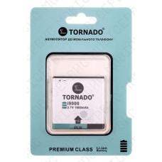Аккумулятор TORNADO premium Samsung i9000 (EB575152VU) 1700mah (альтернатива)