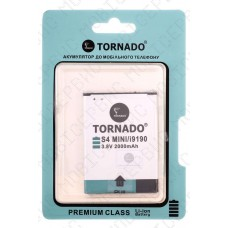 Аккумулятор TORNADO premium Samsung i9190 (B500AE) 1900mah (альтернатива)