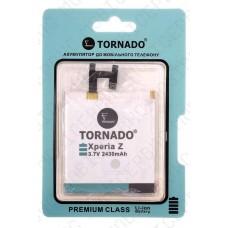Аккумулятор TORNADO premium Sony c6603 xperia z (LIS1502ERPC) 2330mah (альтернатива)