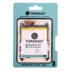 Аккумулятор TORNADO premium Sony c6903 xperia z1 (LIS1525ERPC) 3000mah (альтернатива)