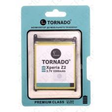 Аккумулятор TORNADO premium Sony d6502 xperia z2 (LiS1543ERPC) 3200mah (альтернатива)