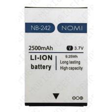 Аккумулятор Nomi i242 (NB-242) 2500mah (оригинал тех. упаковка)