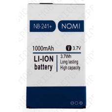 Аккумулятор Nomi i241 (NB-241) 1000mah (оригинал тех. упаковка)