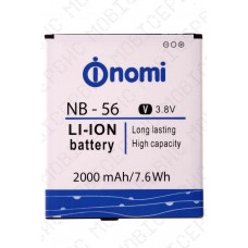 Аккумулятор Nomi i503 Jump (NB-56) 2000mah (альтернатива)