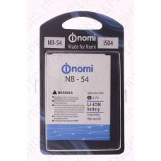 Аккумулятор Nomi i504 (NB-54) 2000mah (альтернатива)
