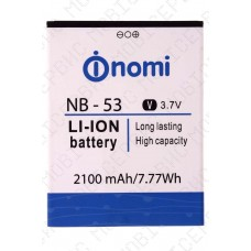 Аккумулятор Nomi i502 (NB-53) 2100mah (альтернатива)