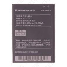 Аккумулятор Lenovo A630 (BL206) 2500mah (оригинал тех. упаковка)