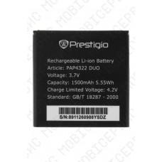 Аккумулятор Prestigio MultiPhone PAP4322 DUO 1500mah (оригинал тех. упаковка)