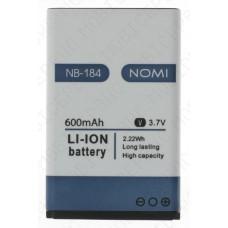 Аккумулятор Nomi i184 (NB-184) 600mah (оригинал тех. упаковка)
