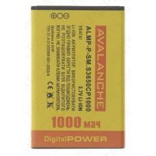 Аккумулятор Avalanche Samsung S3650 (AB463651BU) 960mah (альтернатива)